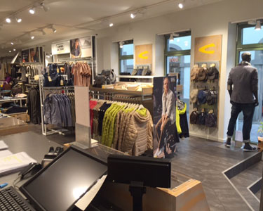 camel active Store Bad Kissingen Innenansicht